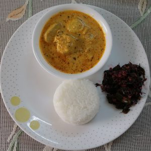 Methi Fish (Curd Base)