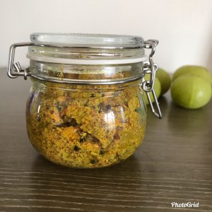 Amla Pickle (Indian Gooseberry Pickle)